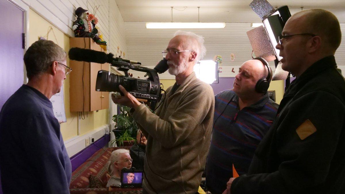 Alan with camera